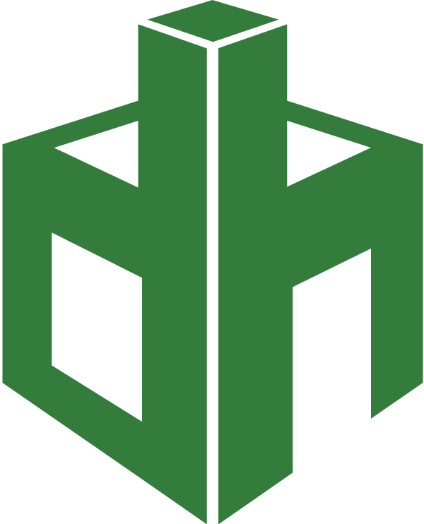 Destiny Homes Logo in White